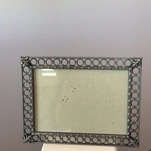 Pretty pewter color frame